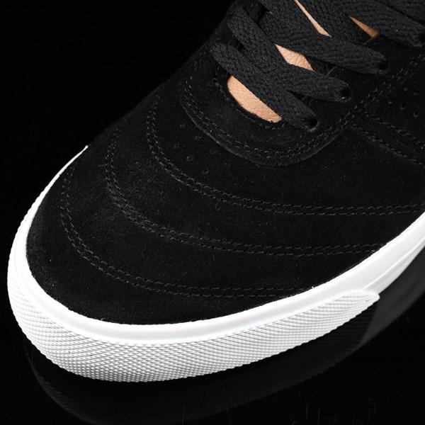HUF Galaxy Shoes Black, Baseball Closeup