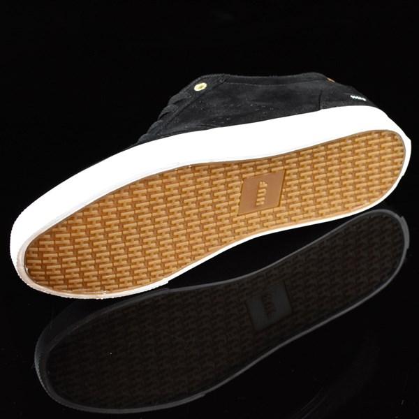 HUF Galaxy Shoes Black, Baseball Sole