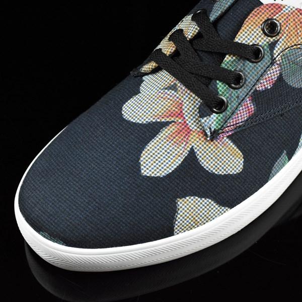 HUF Sutter Shoes Aloha Aina Floral Closeup