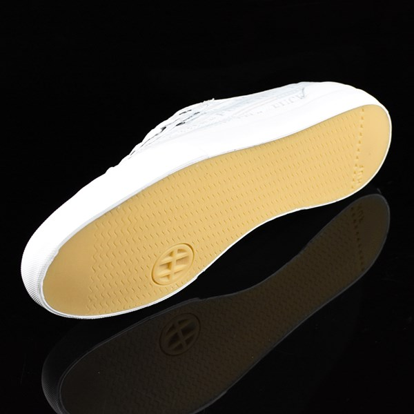 HUF Classic Lo Shoes Fu-k It, White Sole