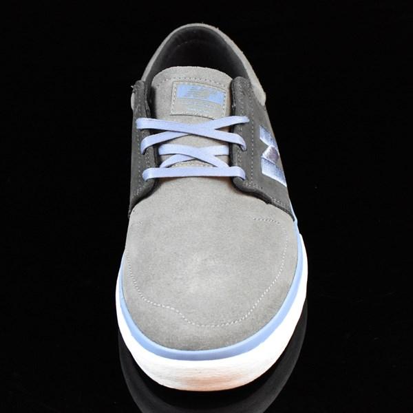 NB# Brighton Shoes Grey, Light Blue Rotate 6 O'Clock