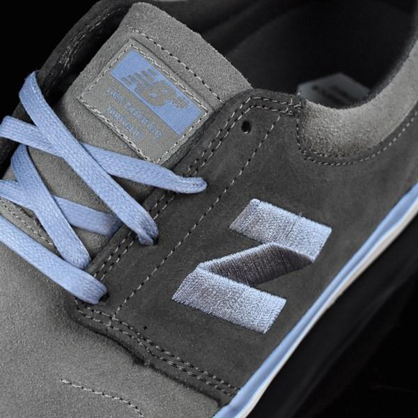 NB# Brighton Shoes Grey, Light Blue Tongue