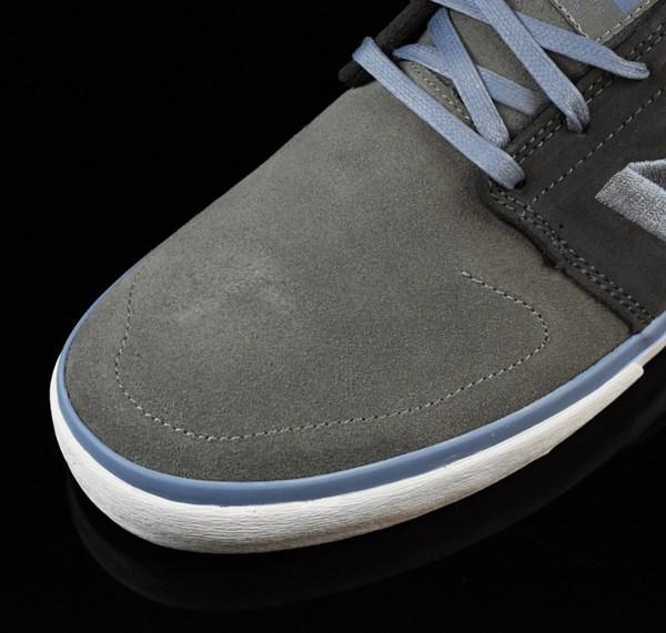 NB# Brighton Shoes Grey, Light Blue Closeup