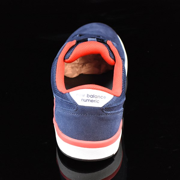 NB# Stratford Shoes Navy, Red Rotate 12 O'Clock