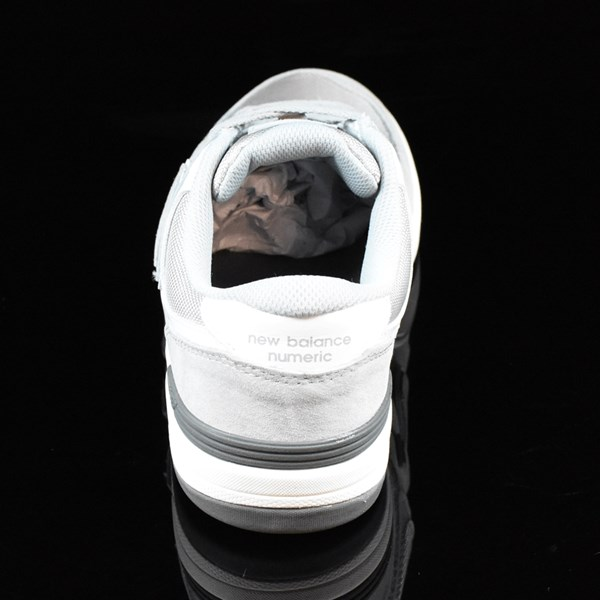 NB# Logan-S 636 Shoes Grey, White Rotate 12 O'Clock