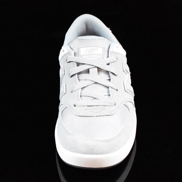 NB# Logan-S 636 Shoes Grey, White Rotate 6 O'Clock
