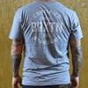 Brixton Cane Premium T Shirt Heather Grey back
