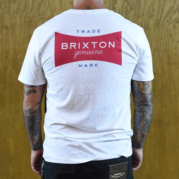 Brixton Ramsey Premium T Shirt White back