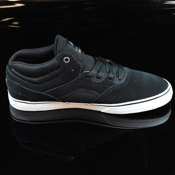 Emerica The Westgate Mid Vulc Shoes Black, White Rotate 3 O'Clock