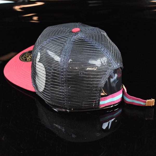 The Official Brand Stefan Janoski Meshlife Strap Back Hat Black, Red back