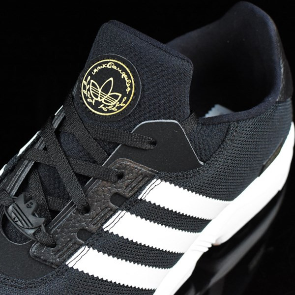 adidas ZX Gonz Shoes Black, White Tongue