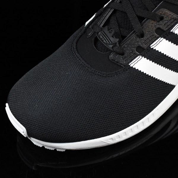 adidas ZX Gonz Shoes Black, White Closeup