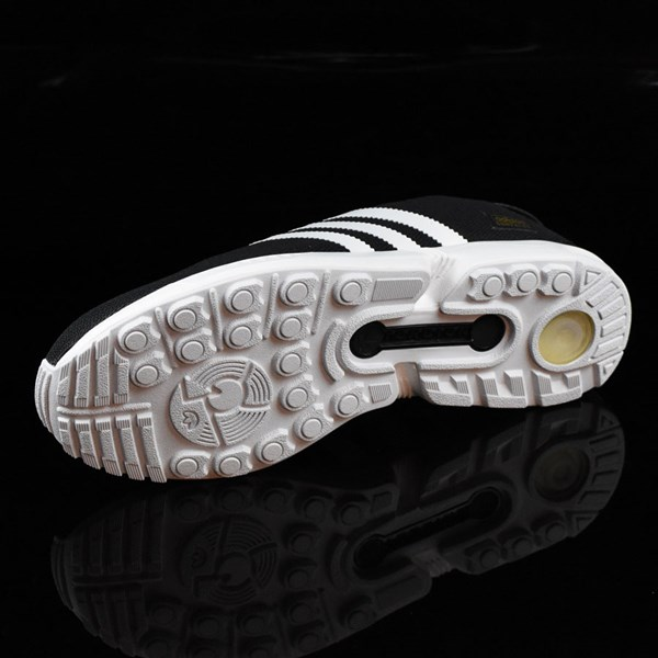 adidas ZX Gonz Shoes Black, White Sole