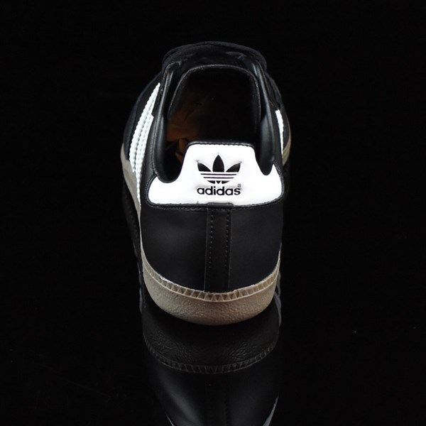 adidas Samba Shoes Black, White, Gum Rotate 12 O'Clock