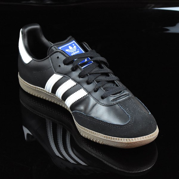 adidas Samba Shoes Black, White, Gum Rotate 4:30
