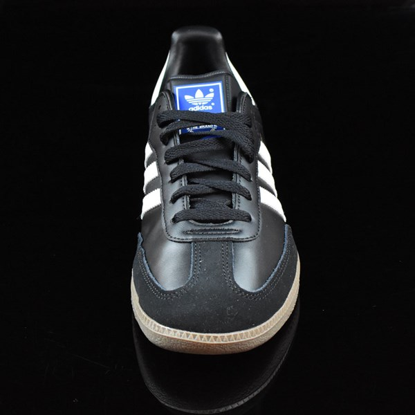 adidas Samba Shoes Black, White, Gum Rotate 6 O'Clock