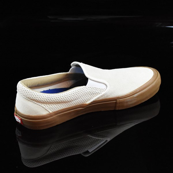 Vans Slip On Pro Shoes Off White, Gum Rotate 1:30