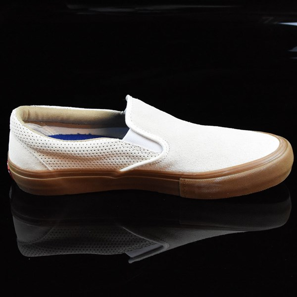 Vans Slip On Pro Shoes Off White, Gum Rotate 3 O'Clock