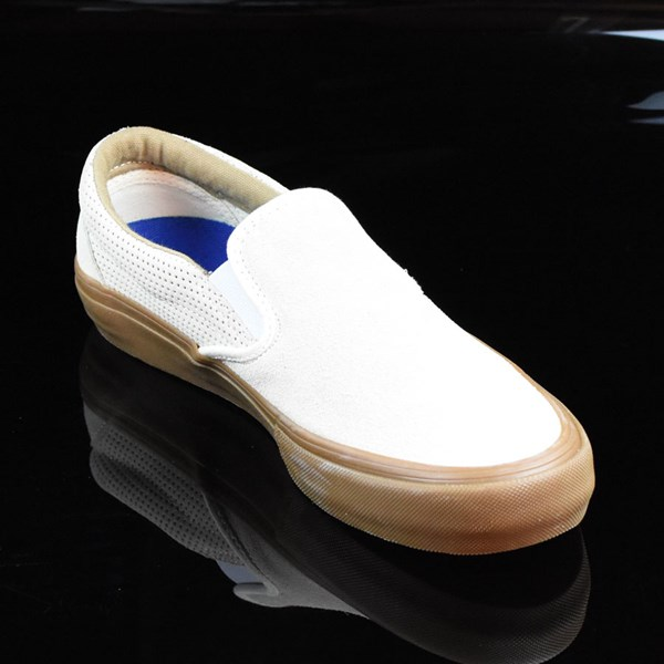 Vans Slip On Pro Shoes Off White, Gum Rotate 4:30