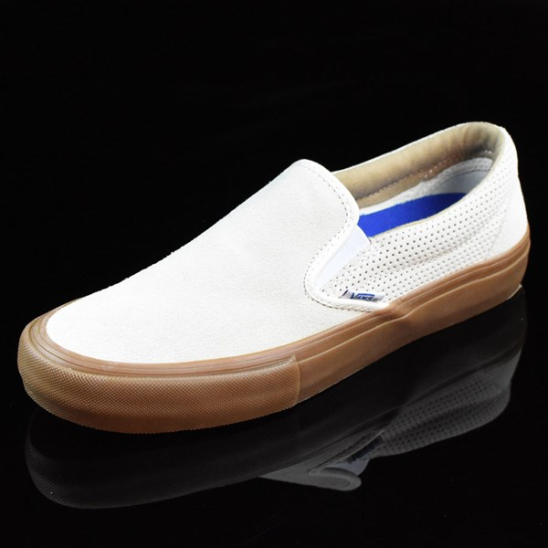 Vans Slip On Pro Shoes Off White, Gum Rotate 7:30