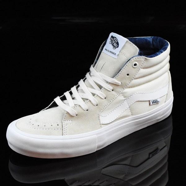 vans sk8 hi pro acid wash white