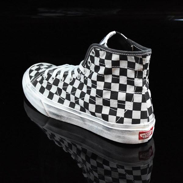 vans sk8 hi decon checkerboard