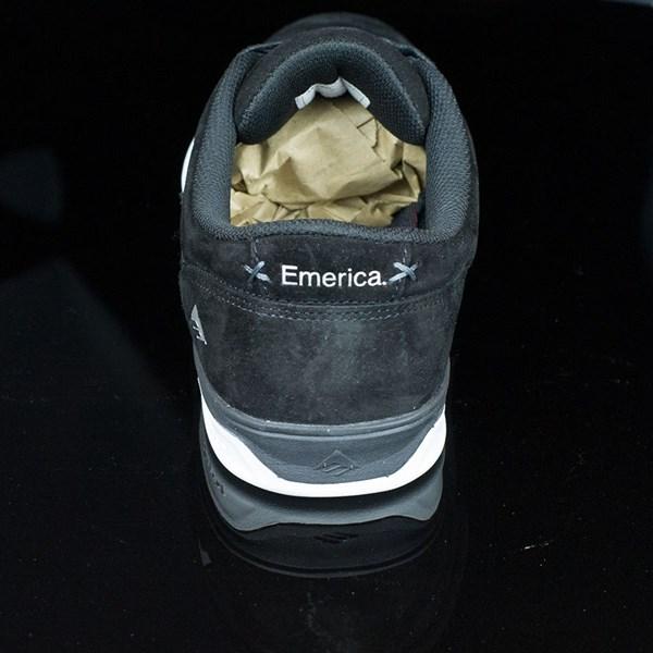 Emerica The Herman G6 Shoes Black, White Rotate 12 O'Clock