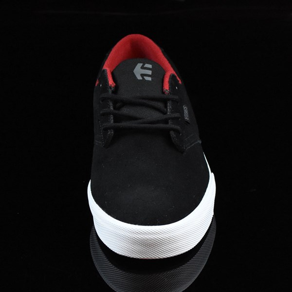 etnies Jameson Vulc Shoes Black, White Rotate 6 O'Clock