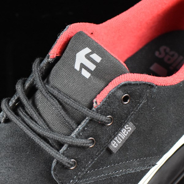 etnies Jameson Vulc Shoes Black, White Tongue