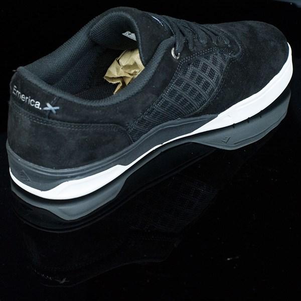 Emerica The Herman G6 Shoes Black, White Rotate 1:30