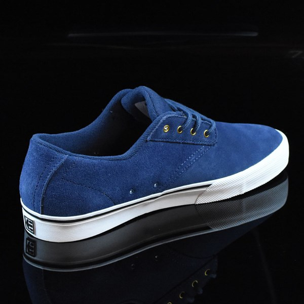 etnies Jameson Vulc Shoes Blue, White Rotate 1:30