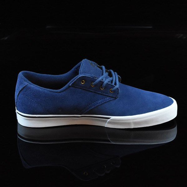 etnies Jameson Vulc Shoes Blue, White Rotate 3 O'Clock