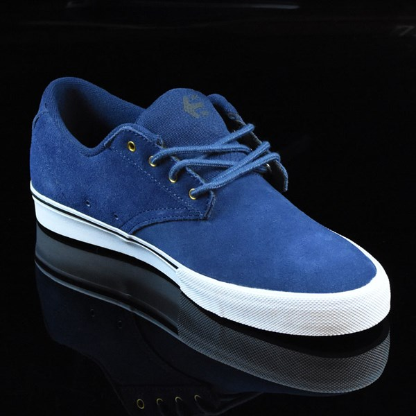 etnies Jameson Vulc Shoes Blue, White Rotate 4:30