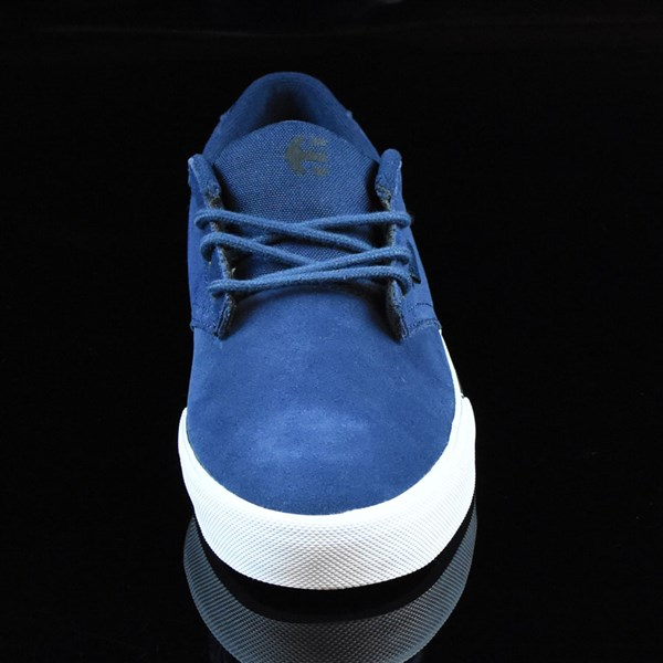 etnies Jameson Vulc Shoes Blue, White Rotate 6 O'Clock