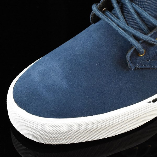 etnies Jameson Vulc Shoes Blue, White Closeup