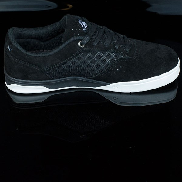 Emerica The Herman G6 Shoes Black, White Rotate 3 O'Clock