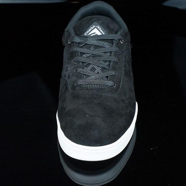 Emerica The Herman G6 Shoes Black, White Rotate 6 O'Clock