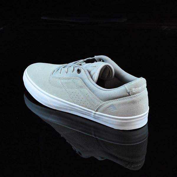 Emerica The Herman G6 Vulc Shoes Light Grey Rotate 7:30