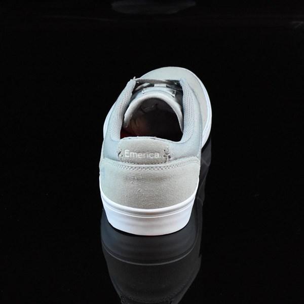 Emerica The Herman G6 Vulc Shoes Light Grey Rotate 12 O'Clock