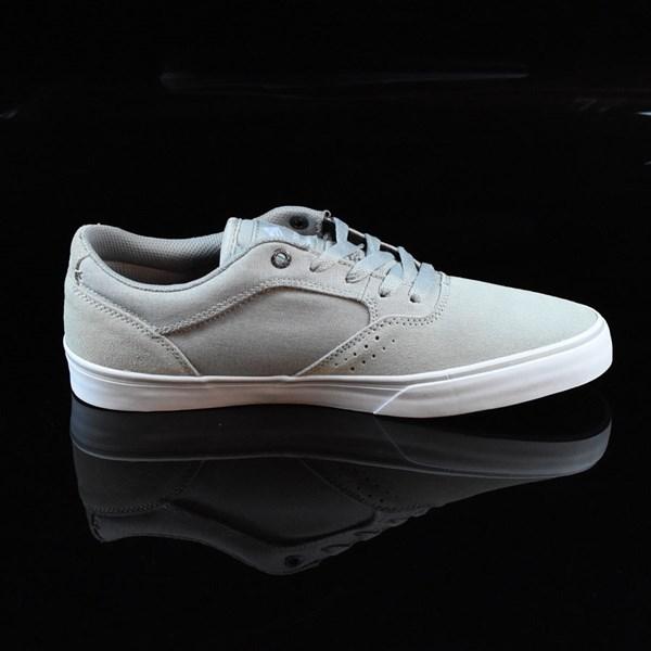 Emerica The Herman G6 Vulc Shoes Light Grey Rotate 3 O'Clock