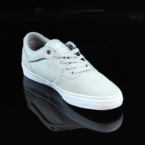 Emerica The Herman G6 Vulc Shoes Light Grey Rotate 4:30