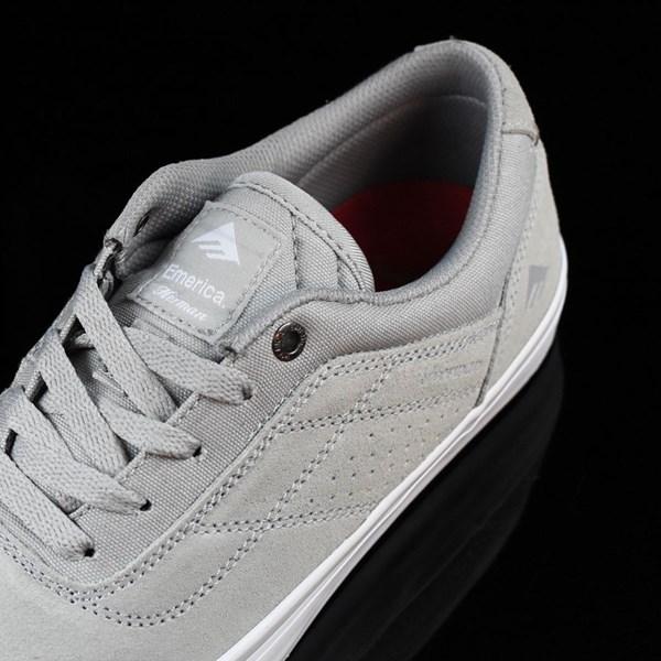 Emerica The Herman G6 Vulc Shoes Light Grey Tongue