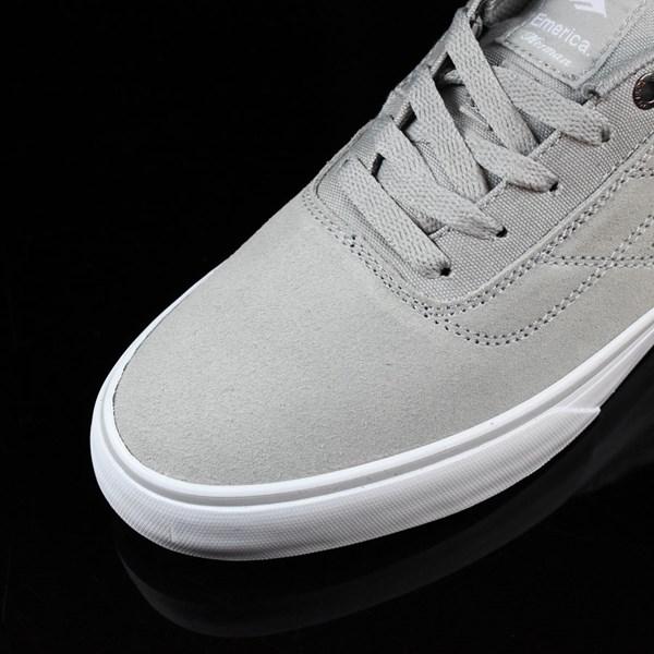 Emerica The Herman G6 Vulc Shoes Light Grey Closeup