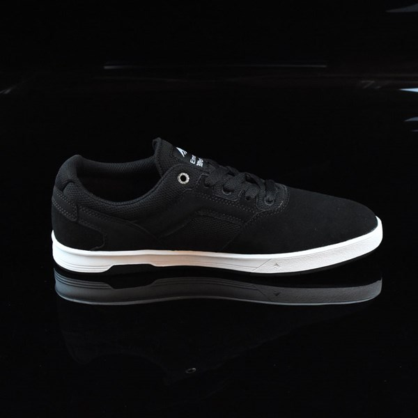 Emerica The Westgate CC Shoes Black, White Rotate 3 O'Clock
