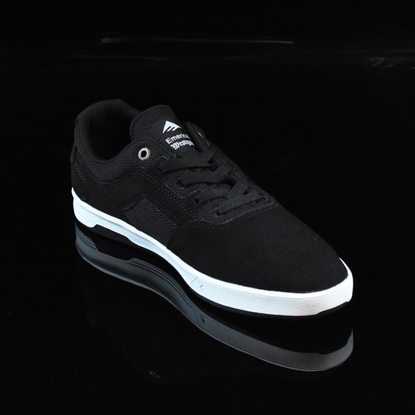 Emerica The Westgate CC Shoes Black, White Rotate 4:30
