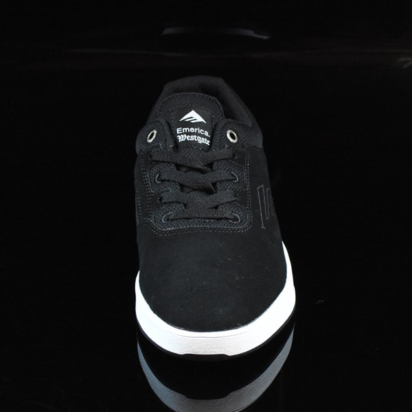 Emerica The Westgate CC Shoes Black, White Rotate 6 O'Clock