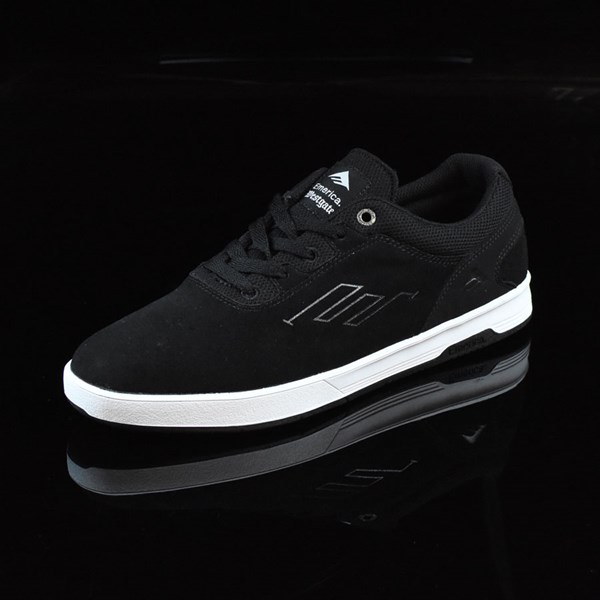 Emerica The Westgate CC Shoes Black, White Rotate 7:30