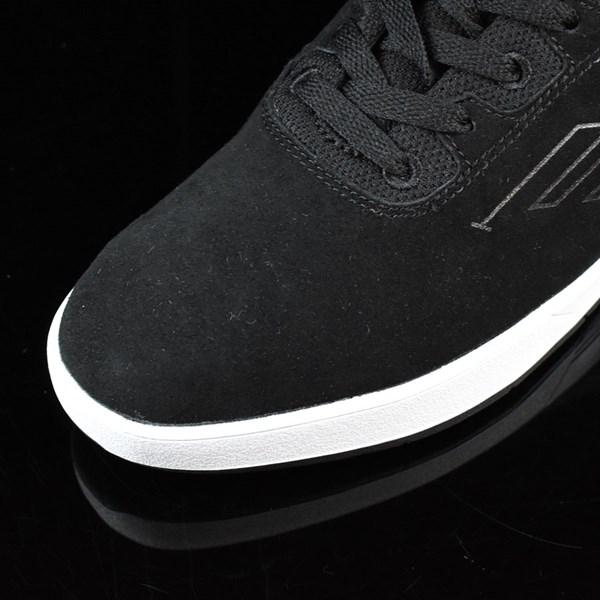 Emerica The Westgate CC Shoes Black, White Closeup