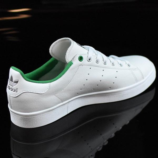 adidas Stan Smith Vulc Shoes Vintage White, Green Rotate 1:30