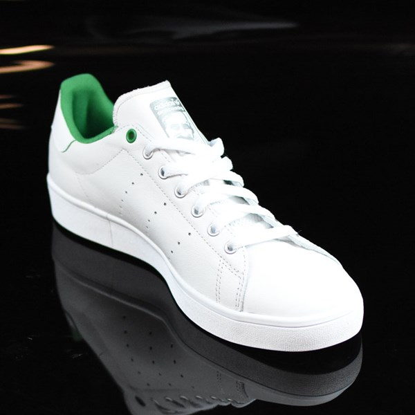 adidas Stan Smith Vulc Shoes Vintage White, Green Rotate 4:30